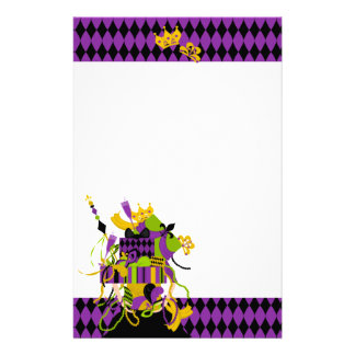 Impossible Mardi Gras Stack Stationery
