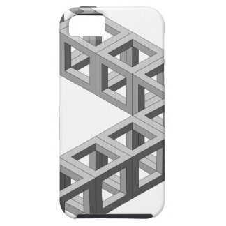 Impossible Optical Illusion Triangle iPhone 5 Cases