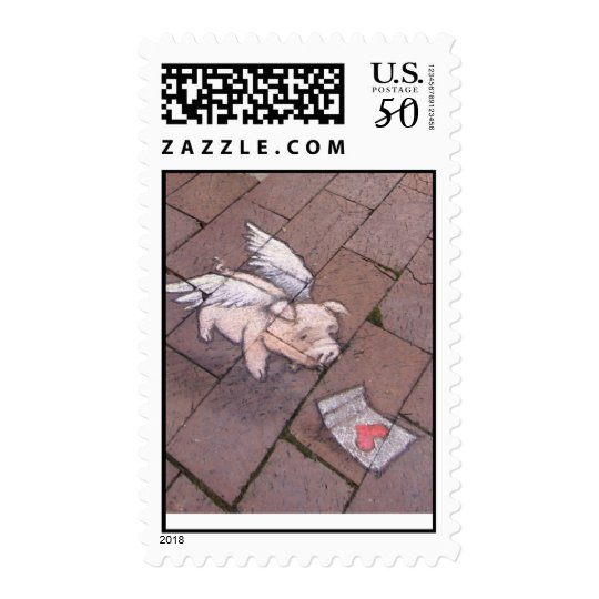 impossible romance stamp