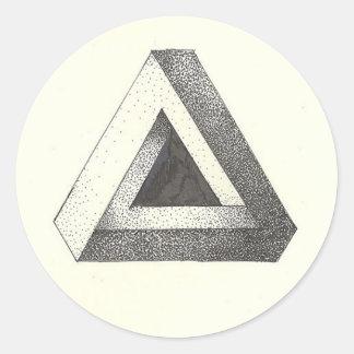 Impossible Shape Sticker