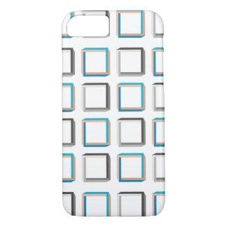 Impossible squares elegant geometric pattern iPhone 8/7 case