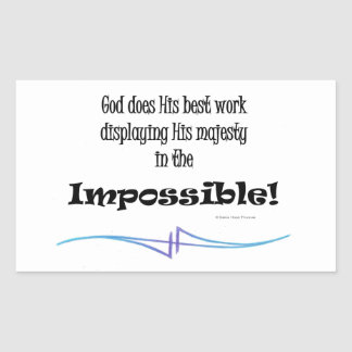impossible sticker