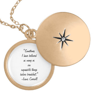 """Impossible Things"" Locket"