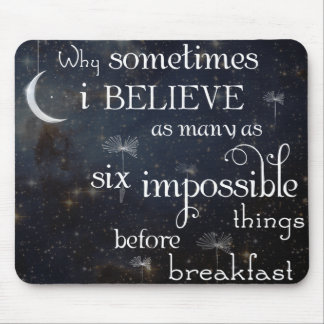 Impossible Things Stars Mouse Pad
