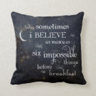 Impossible Things Stars Pillow