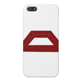Impossible Trapezoid Optical Illusion iPhone 5 Cover