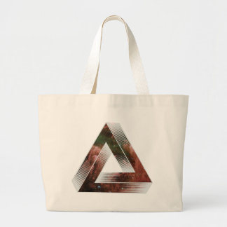 Impossible Triangle Canvas Bags