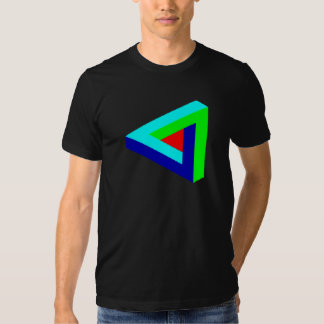 Impossible-triangle T-shirts