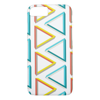 Impossible triangles geeky pattern iPhone 8/7 case