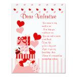 """Impossible Valentine Stack 4.25"""" X 5.5"""" Invitation Card"""