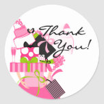 Impossible Wedding Stack Thank You No.3 Sticker