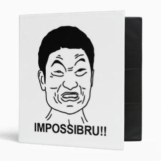 "¡Impossibru!! Cara cómica Carpeta 1"""