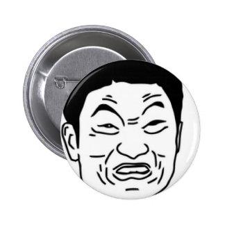 ¡Impossibru!! Cara cómica Pin Redondo De 2 Pulgadas
