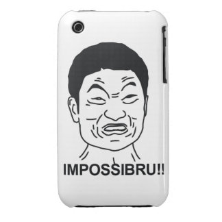 Impossibru Case-Mate iPhone 3 Cases
