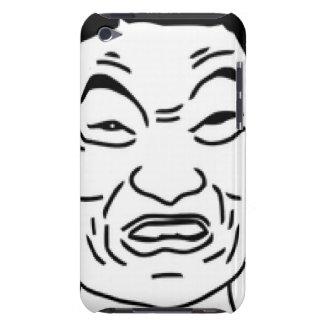 Impossibru!! Comic Face iPod Touch Case