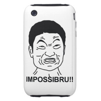 Impossibru iPhone 3 Tough Cover