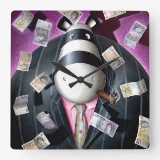 Impossimal© - 'Like A Boss' Boss Time Square Wall Clock
