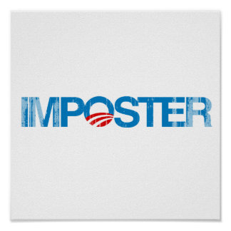 IMPOSTER Faded.png Print