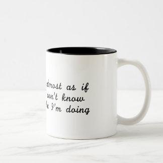 Imposter Two-Tone Coffee Mug