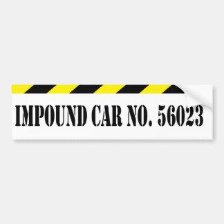 Impound Bumper Sticker