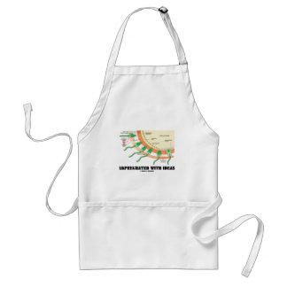 Impregnated With Ideas (Sperm Egg Fertilization) Adult Apron