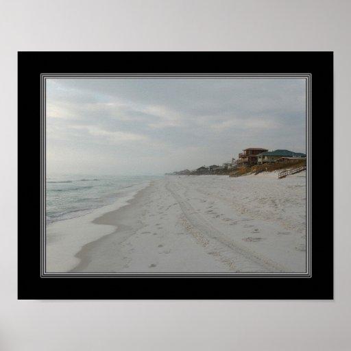 impresión 11x14 de la playa de la Florida Poster