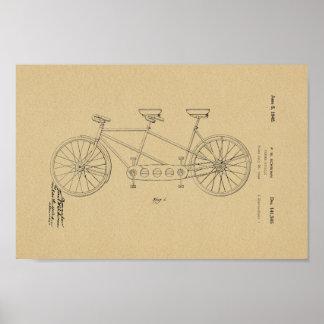 Impresión 1945 del arte de la patente de la póster