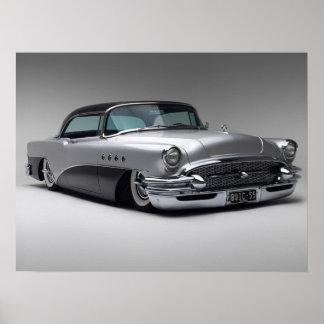 Impresión 1955 de Buick Roadmaster Póster