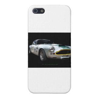 Impresión 1961 del arte de Aston Martin DB4 iPhone 5 Fundas