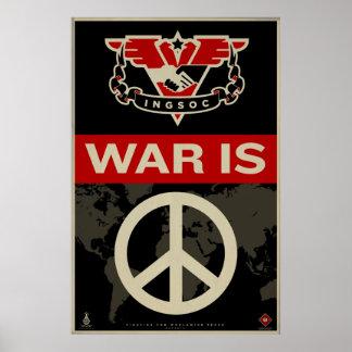 Impresión 1984 de la propaganda de INSOC