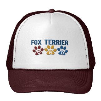 Impresión 1 de la pata del papá del FOX TERRIER Gorras
