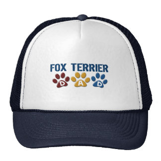 Impresión 1 de la pata del papá del FOX TERRIER Gorra