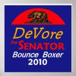 Impresión 2010 del poster de DeVore California