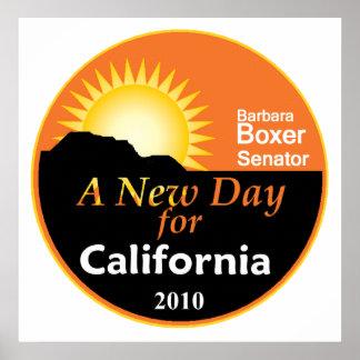 Impresión 2010 del poster del BOXEADOR