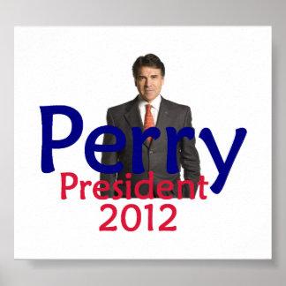 Impresión 2012 del POSTER de Perry