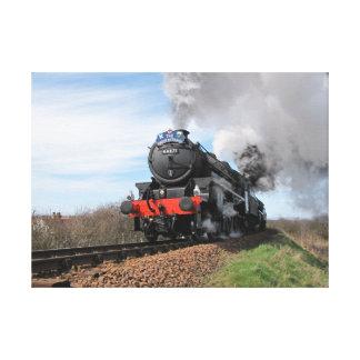 Impresión 2 de la lona del tren del vapor de Gran Impresión En Lona