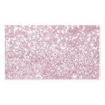 Impresión abstracta blanca rosada femenina de la f plantilla de tarjeta de negocio