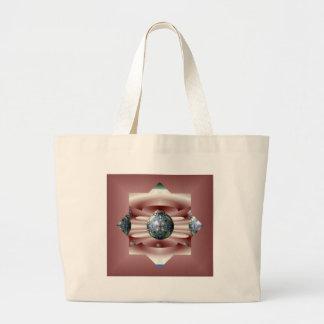 Impresión abstracta bolsas de mano