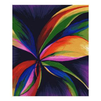Impresión abstracta colorida de la foto del arte fotografía