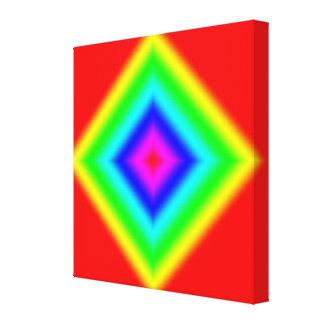 Impresión abstracta de encargo de la lona de la im impresión de lienzo