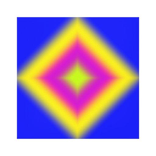 Impresión abstracta de encargo de la lona del dise impresión en tela