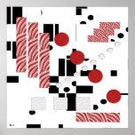 Impresión abstracta de la proporción impresiones