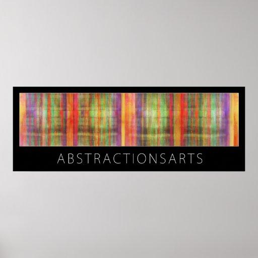 Impresión abstracta del poster del arte moderno
