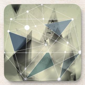 Impresión abstracta loca de Wellcoda geométrica Posavaso