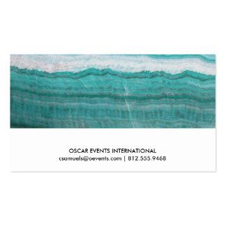 Impresión acodada piedra de la onda del granito de tarjetas de visita