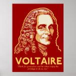 Impresión adaptable de Voltaire Póster