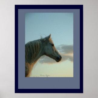 Impresión adaptable del caballo poster
