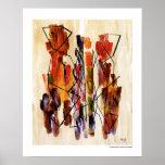 Impresión africana de la decoración 16x20 de la be poster