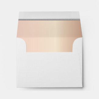 Impresión alineada del cuarzo color de rosa de la sobres