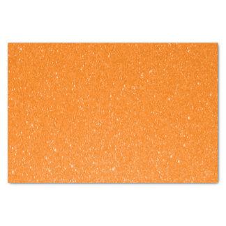 Impresión anaranjada del brillo papel de seda pequeño